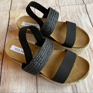 Steve Madden size 8 sandals platform shoes